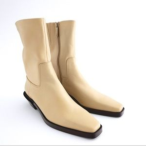 Leather Ankle Boots us6.5/eur37